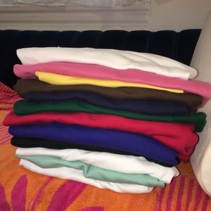 12 - Large Ralph Laurent Polo Shirts